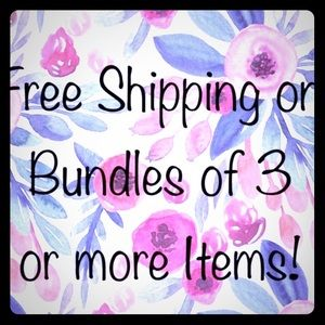 Other - ❤️ Bundle & buy 3 of my items & get FREE shipping